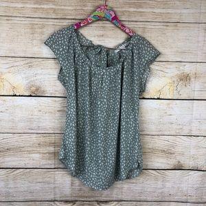 LC Lauren Conrad blouse size M